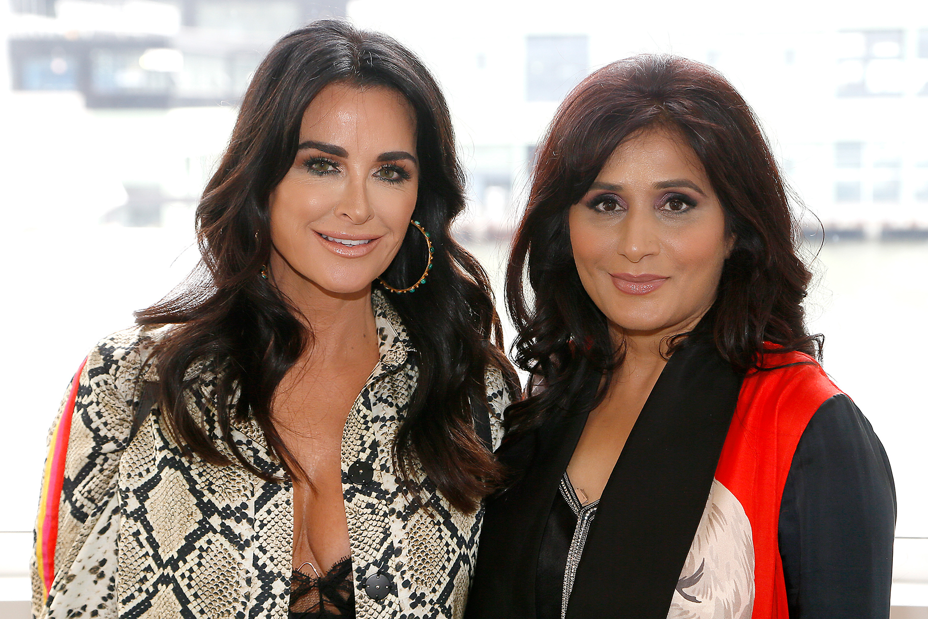 Kyle Richards Nyfw Debut