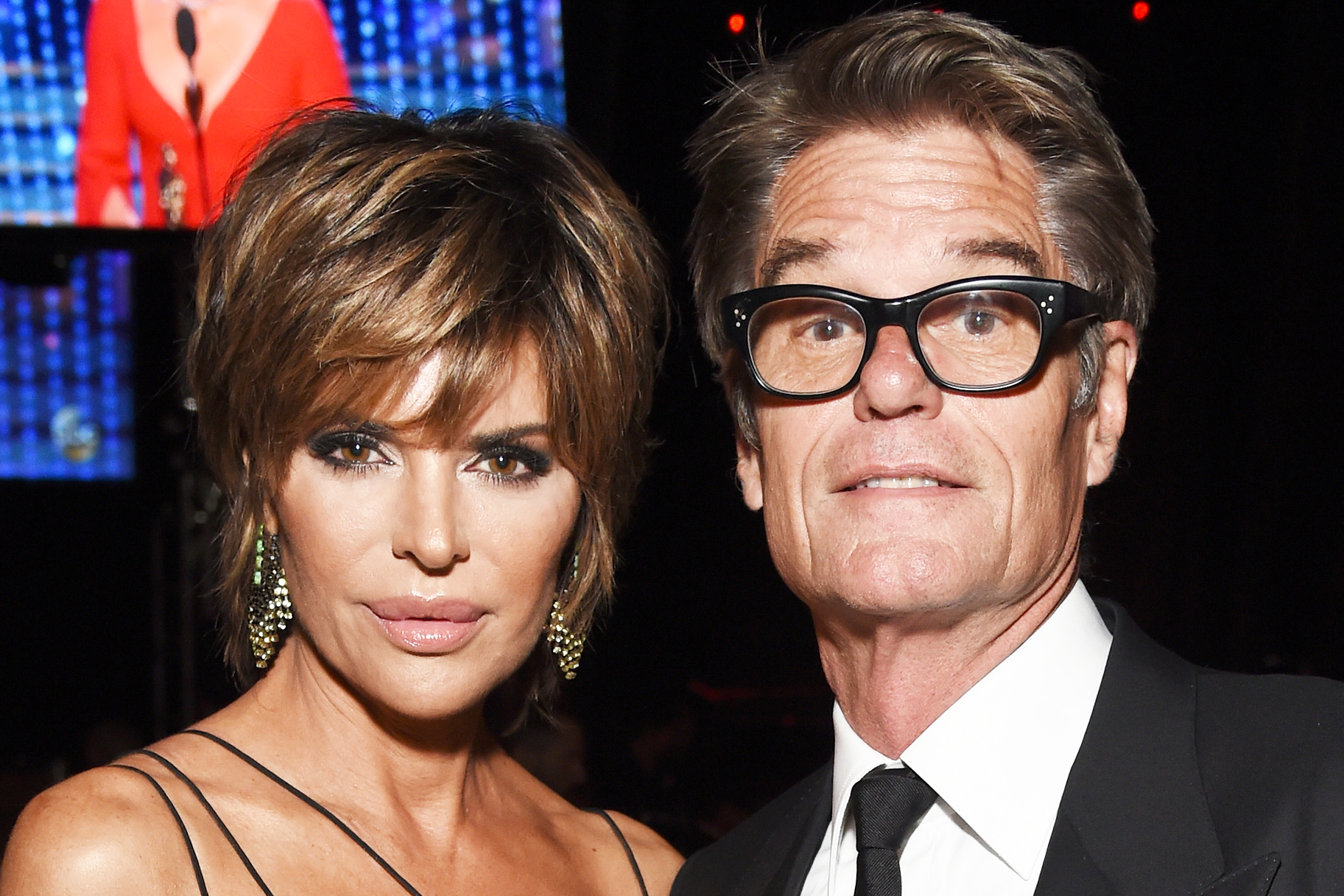 Lisa Rinna Harry Hamlin Gophers