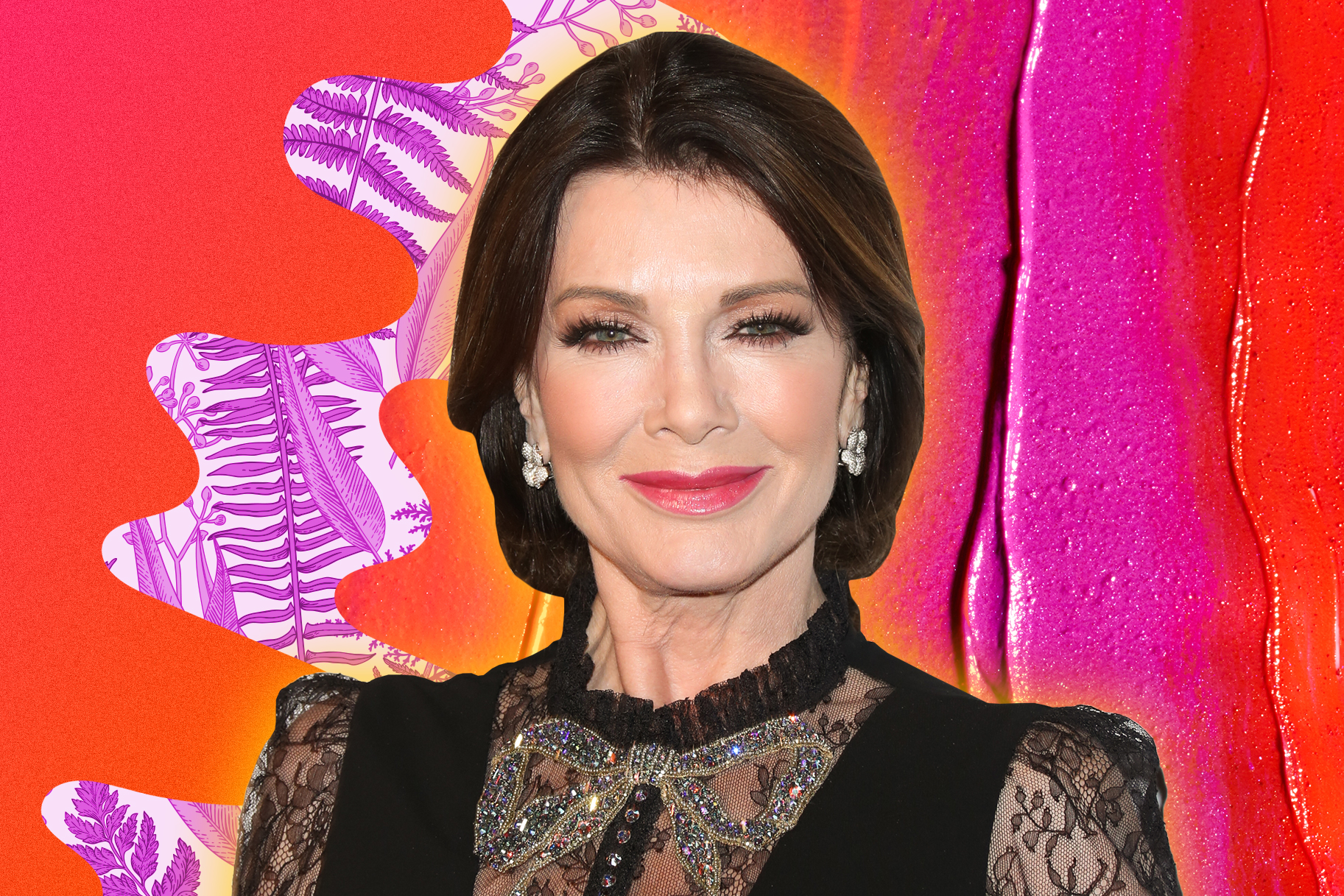 """Lisa Vanderpump Had a Date Night with """"Two Perfect Men"""" at SUR"""