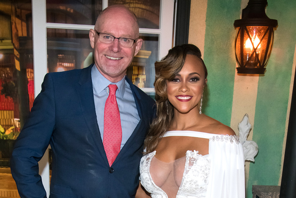 Michael Darby, Ashley Darby at The Real Housewives of Potomac Season 4 Reunion