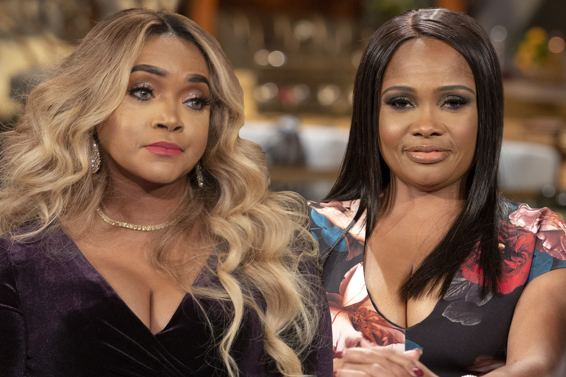 Mariah Huq, Dr. Heavenly Kimes at the Married to Medicine Season 6 Reunion
