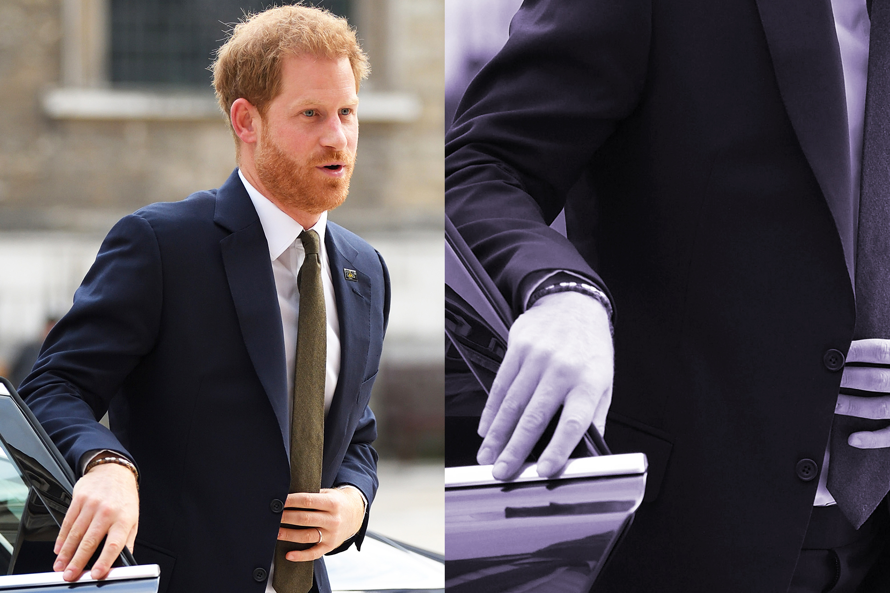 Prince Harry Shuts Own Door