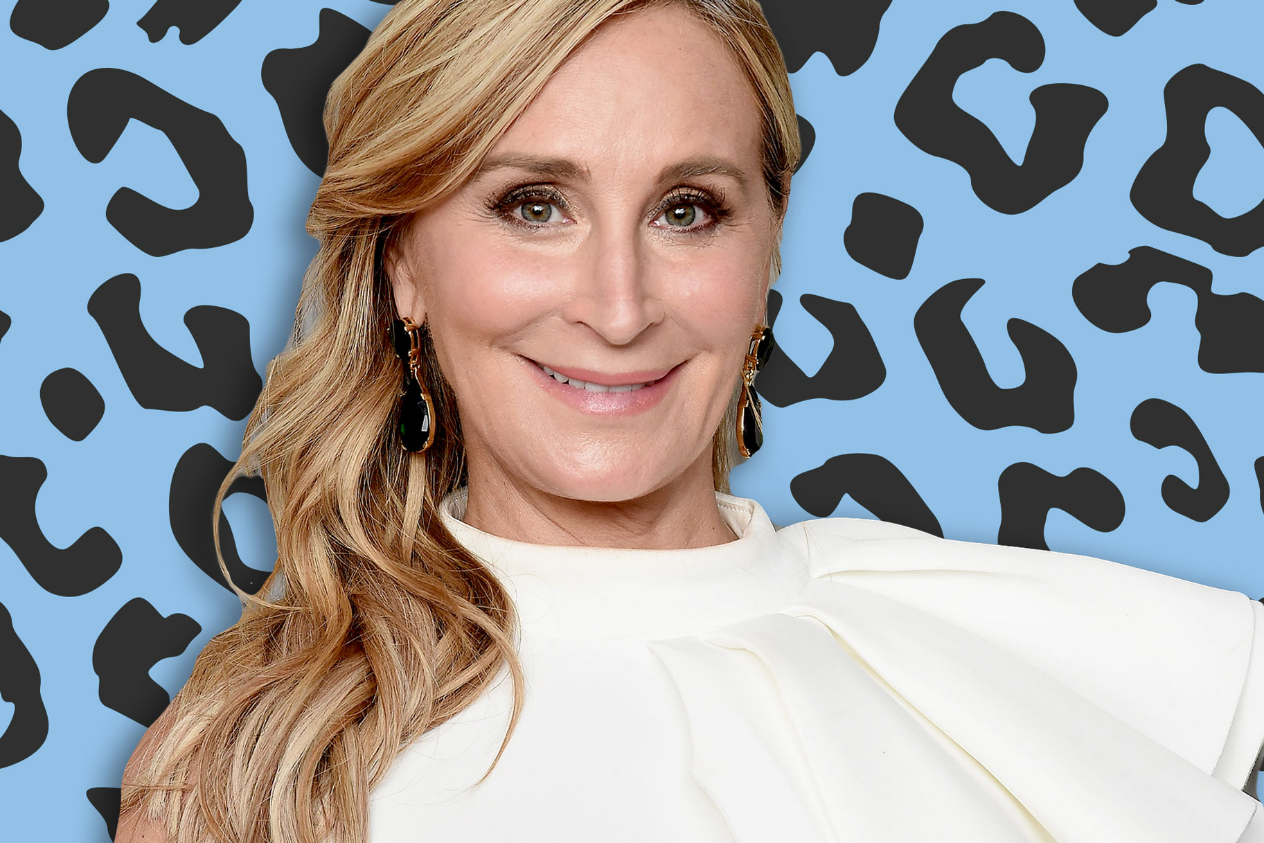 Sonja Morgan Runway Promote