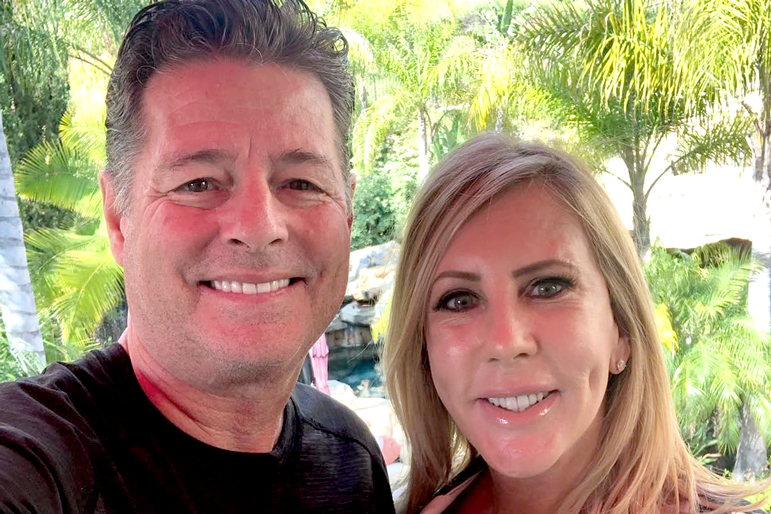 Steve Lodge and Vicki Gunvalson
