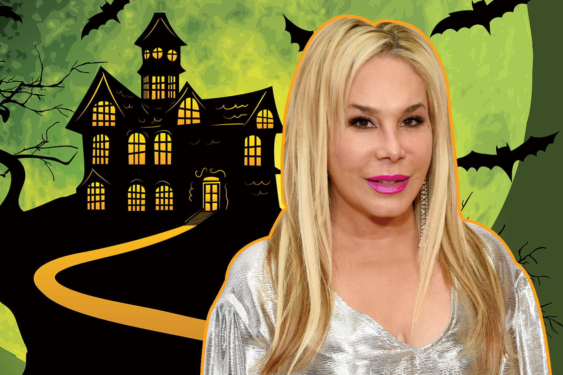 Adrienne Maloof Halloween House Home