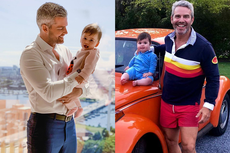 Andy Cohen Ryan Serhant Children Playdate