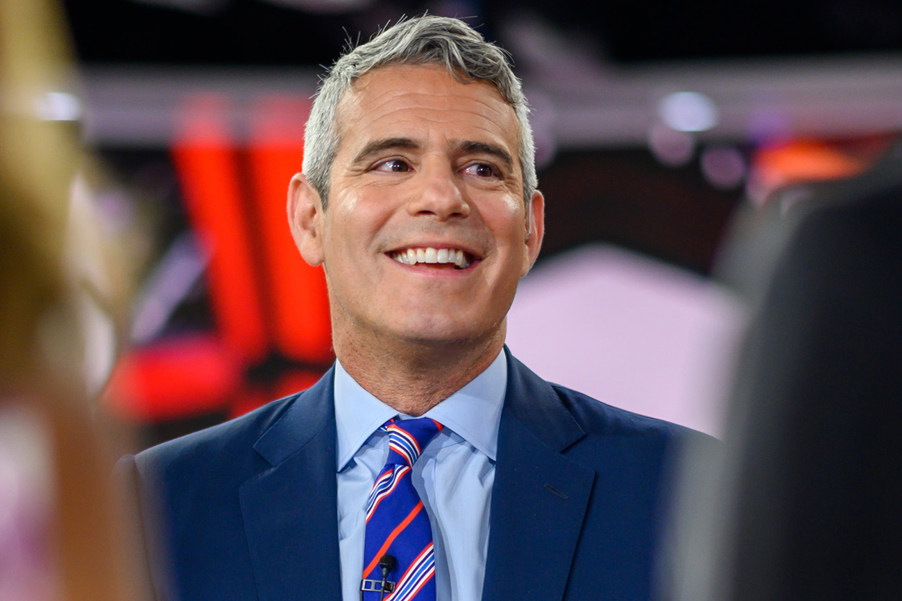 Andy Cohen Scared Fear Spiders
