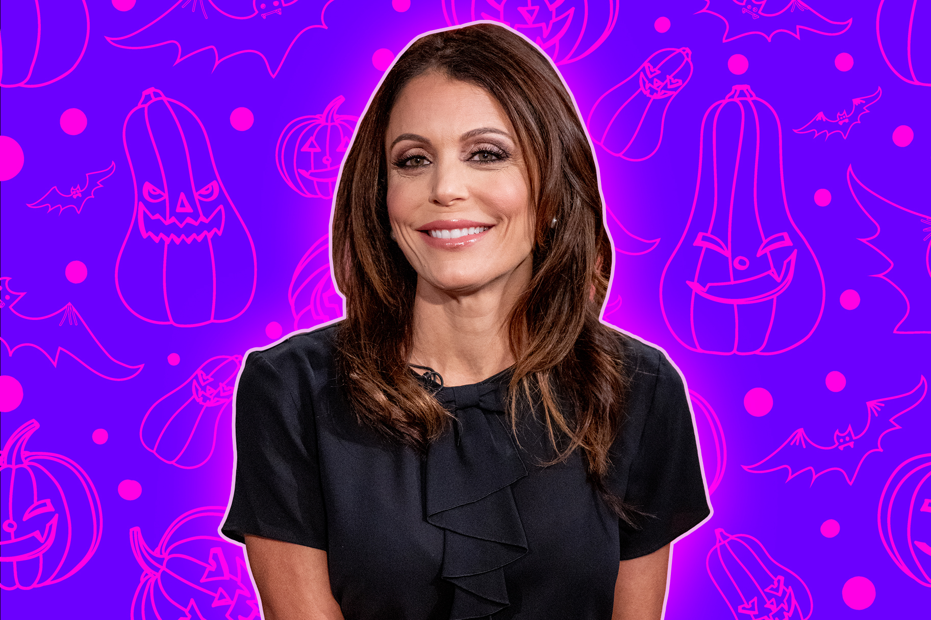 Bethenny Frankel Halloween Decor