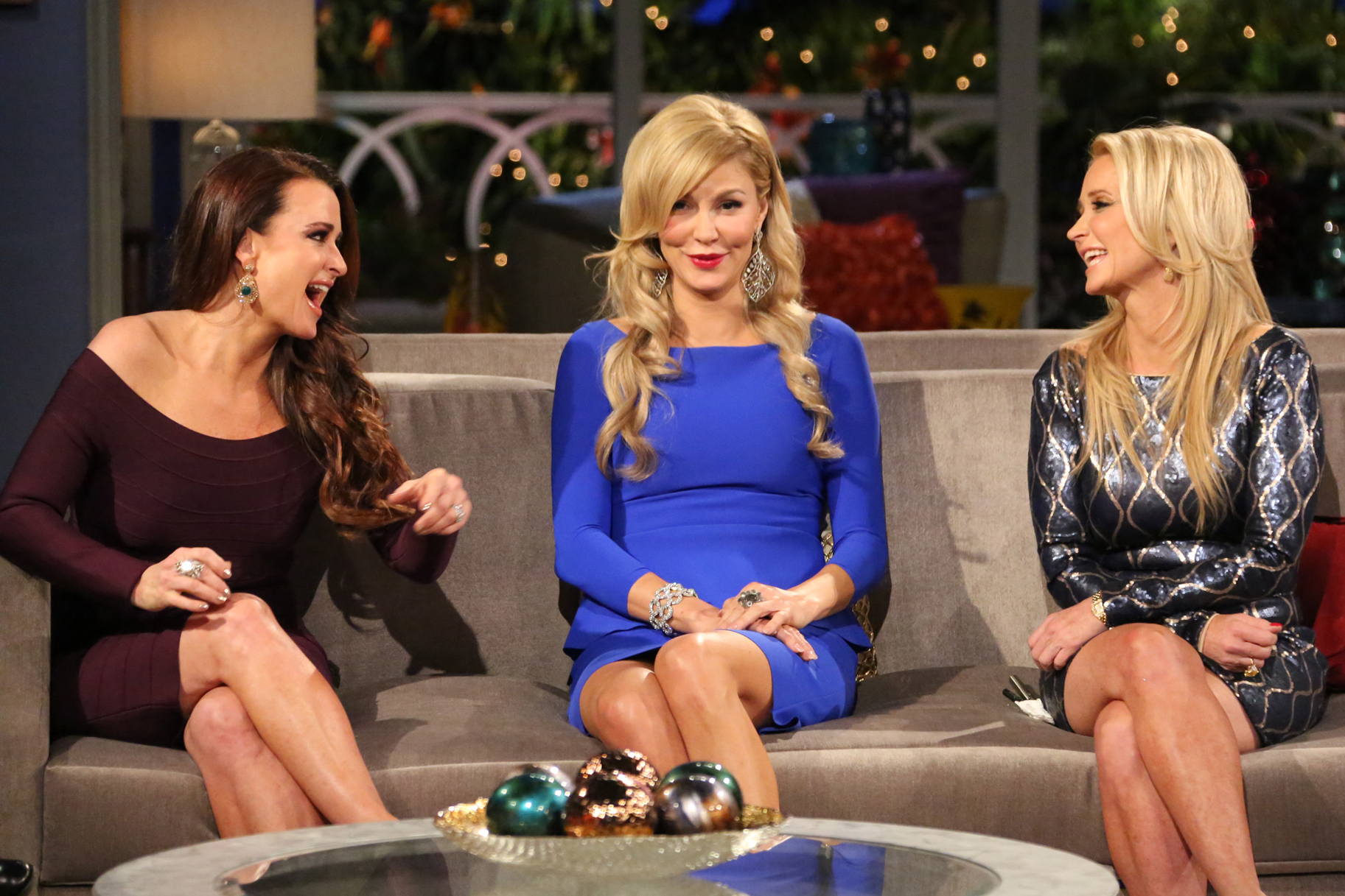 Brandi Glanville Kim Kyle Richards
