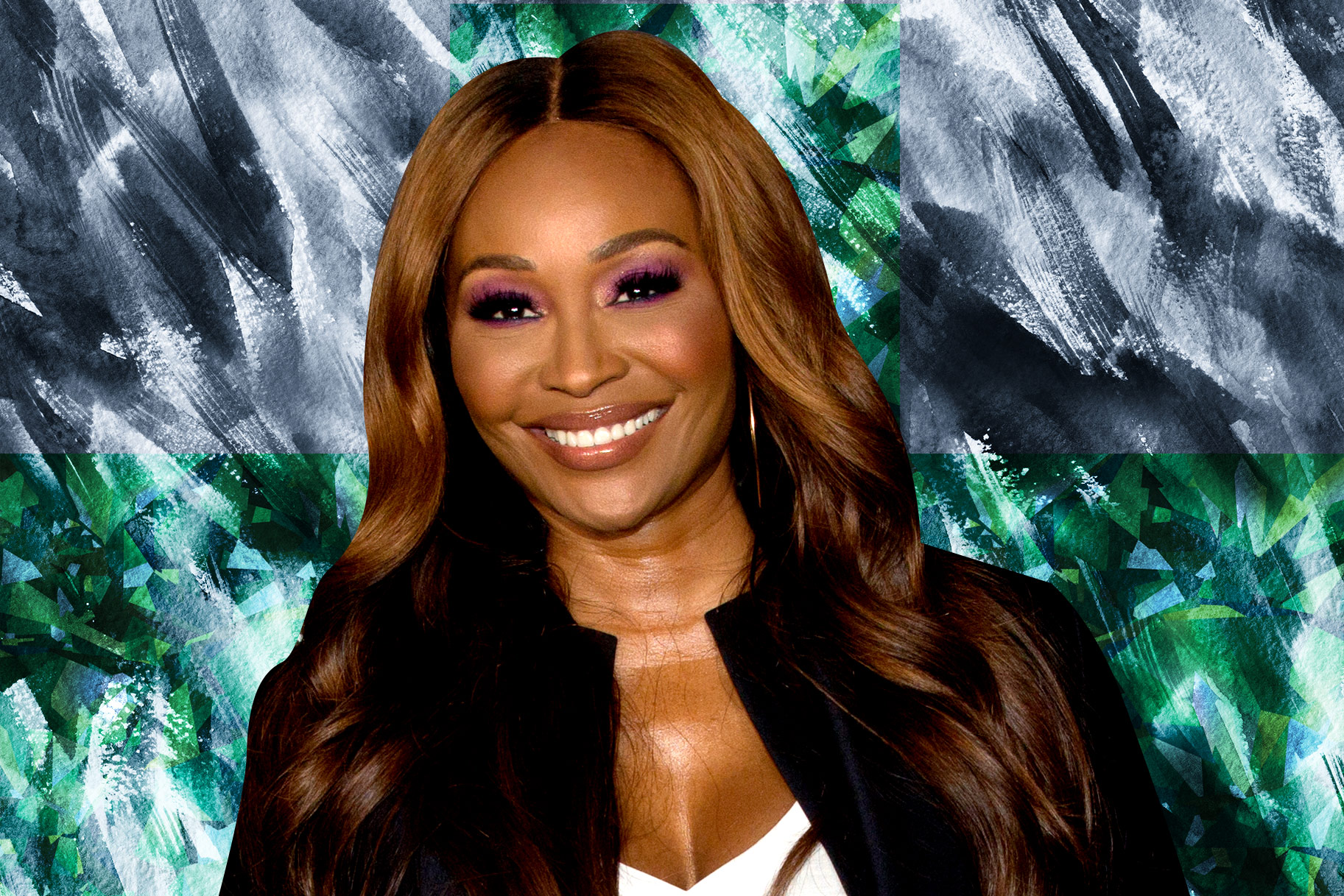 Cynthia Bailey Blonde Bangs Hair