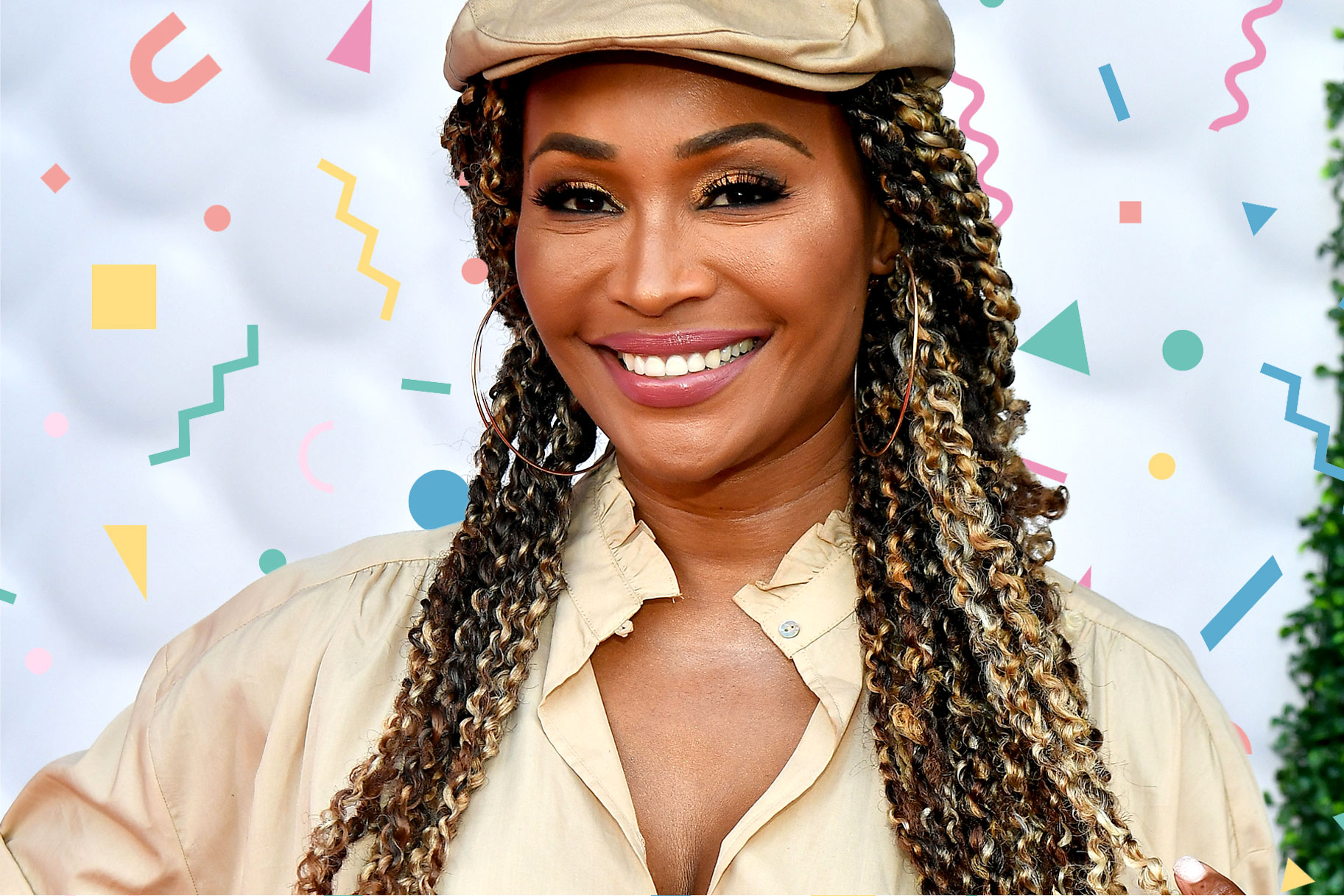 Cynthia Bailey Makeup Free