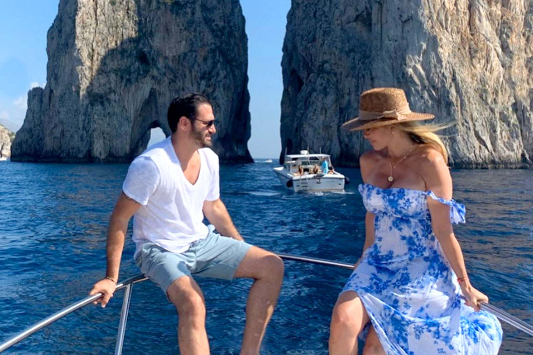 Dina Manzo Italian Vacation Promote
