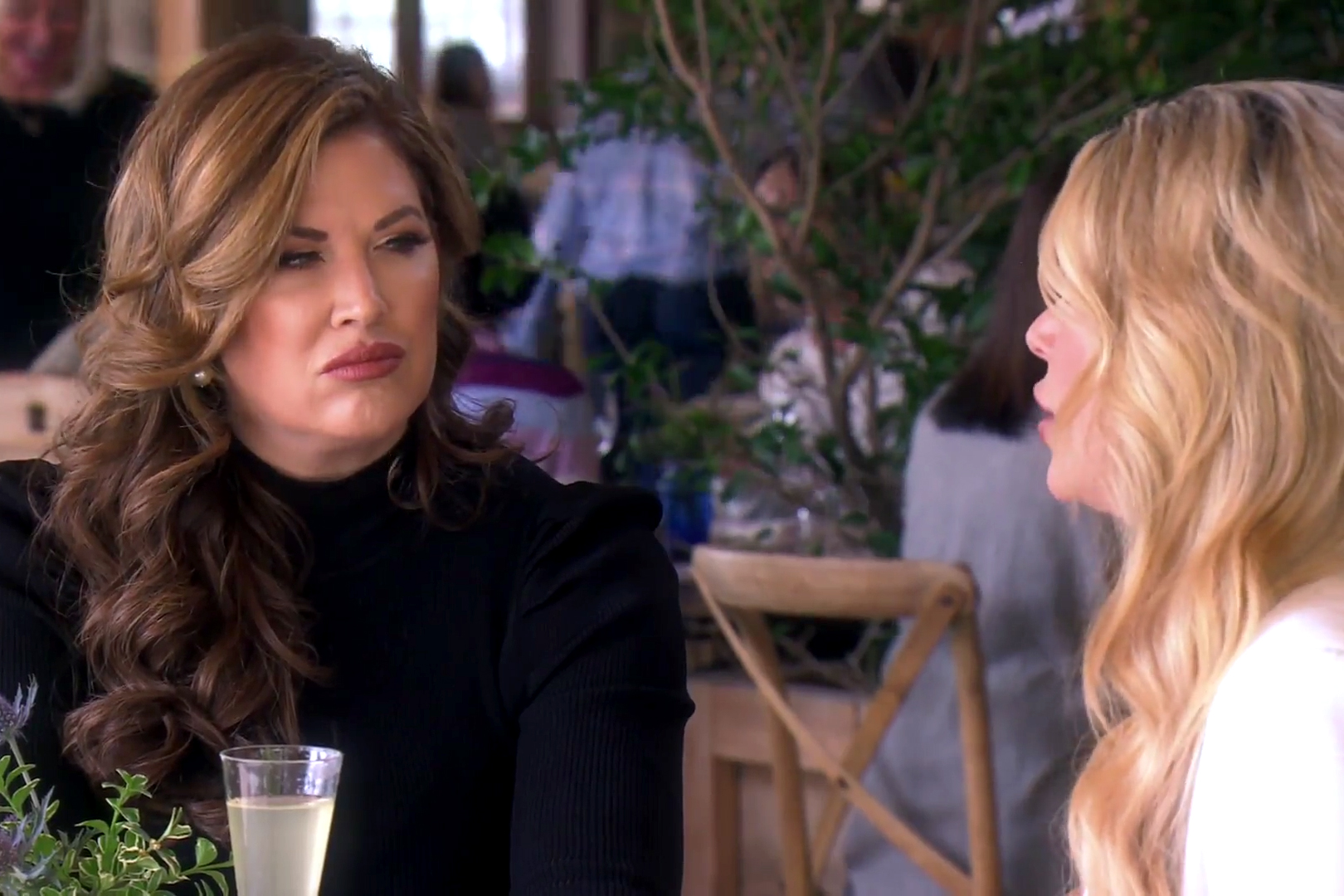 Emily Simpson, Alexis Bellino in The Real Housewives of Orange County Season 14