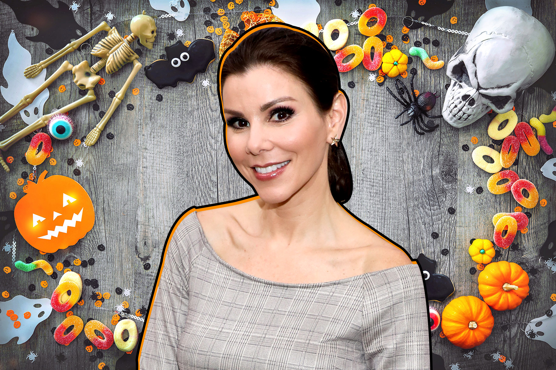 Heather Dubrow Halloween Decorations House