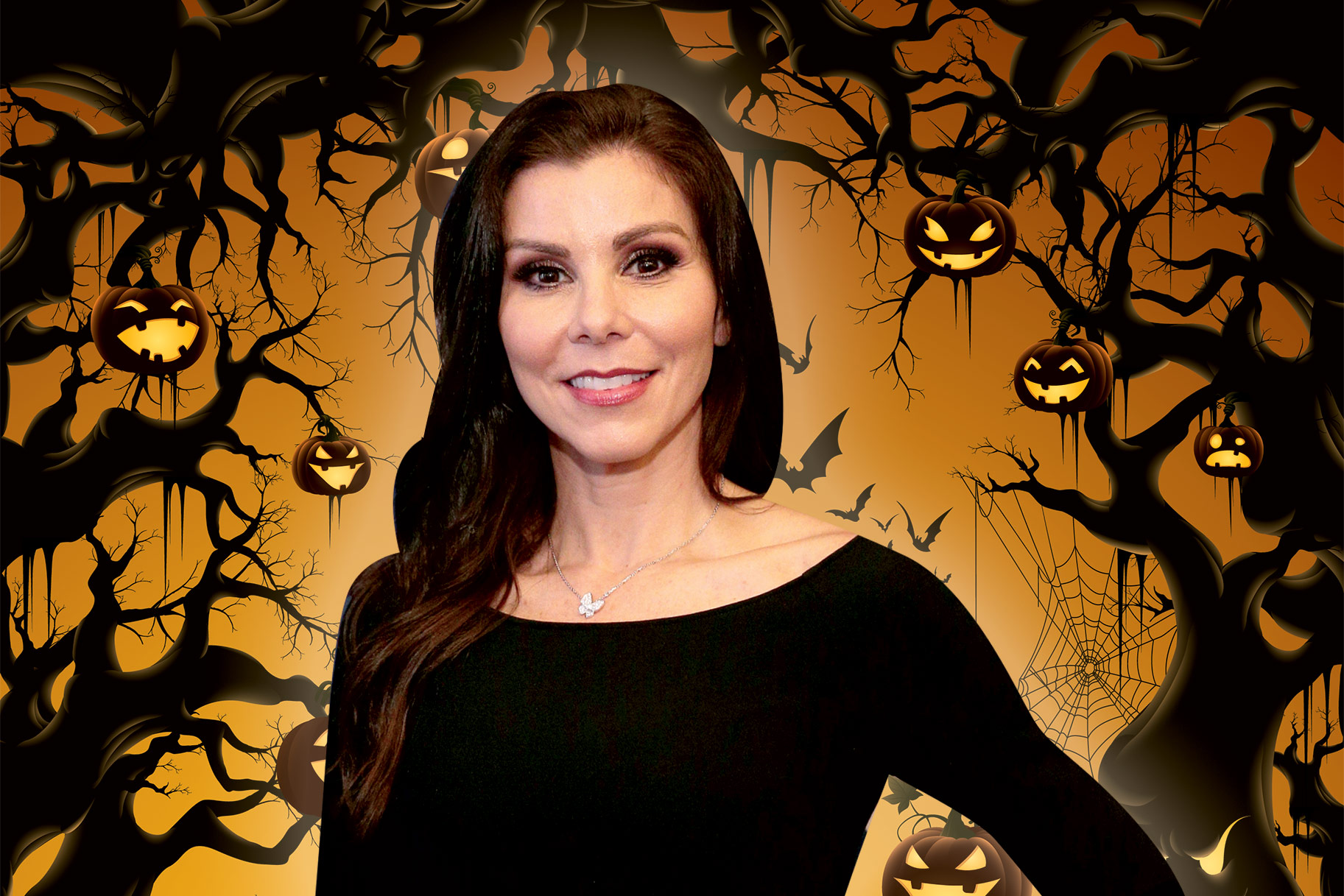 Heather Dubrow Halloween Trees Decoration