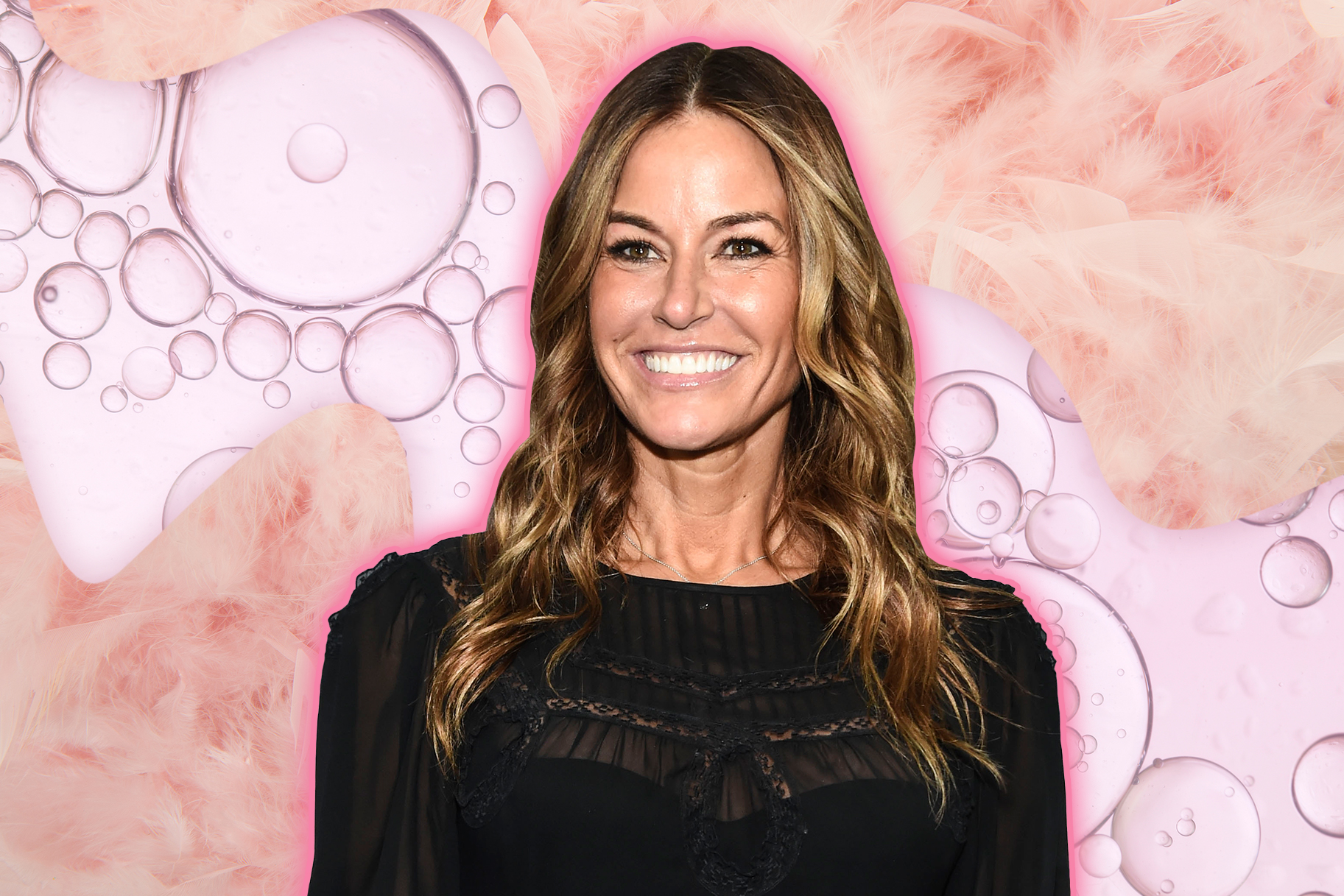 Kelly Bensimon Yoga Pose