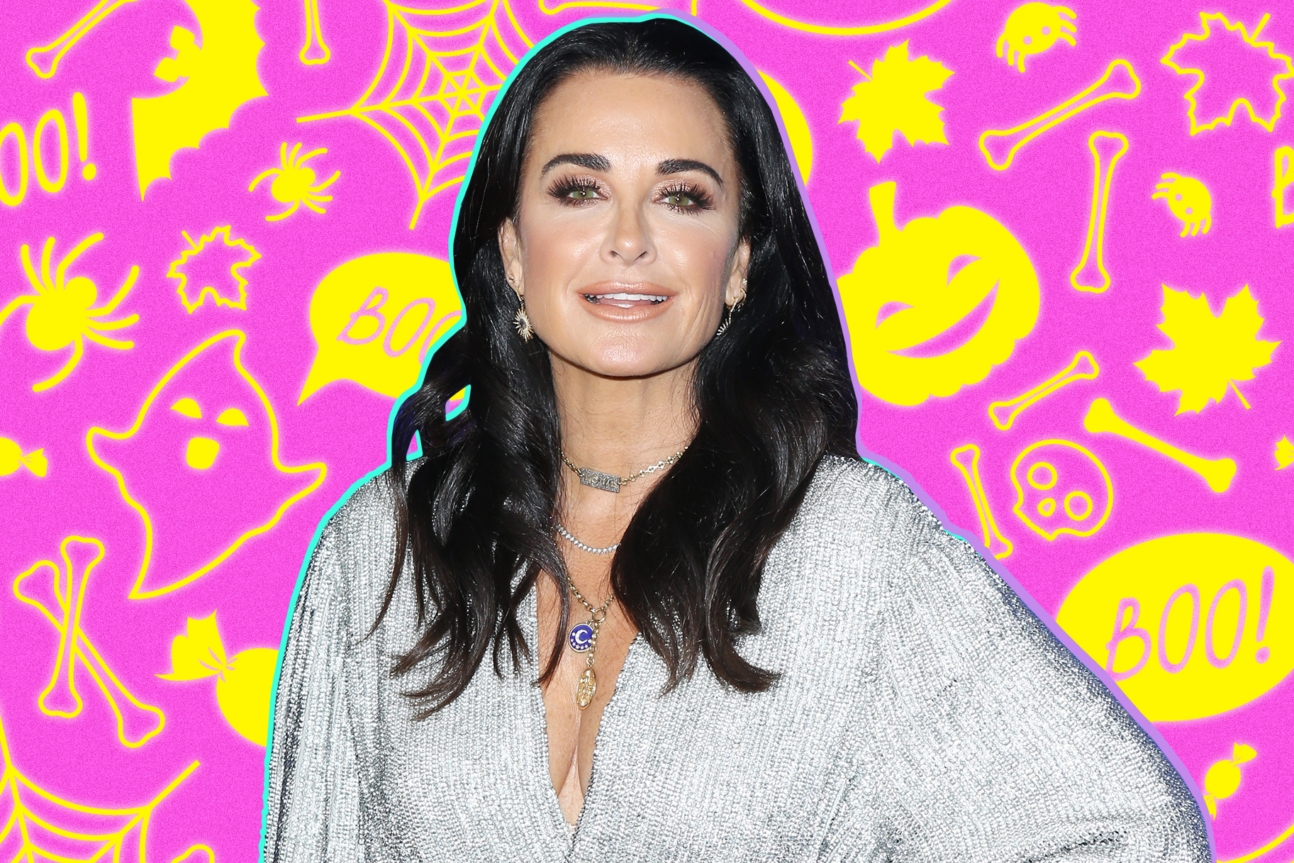 Kyle Richards Halloween Decorations