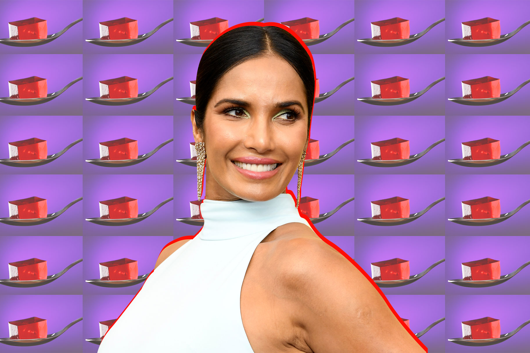 Padma Lakshmi Jello Play Food