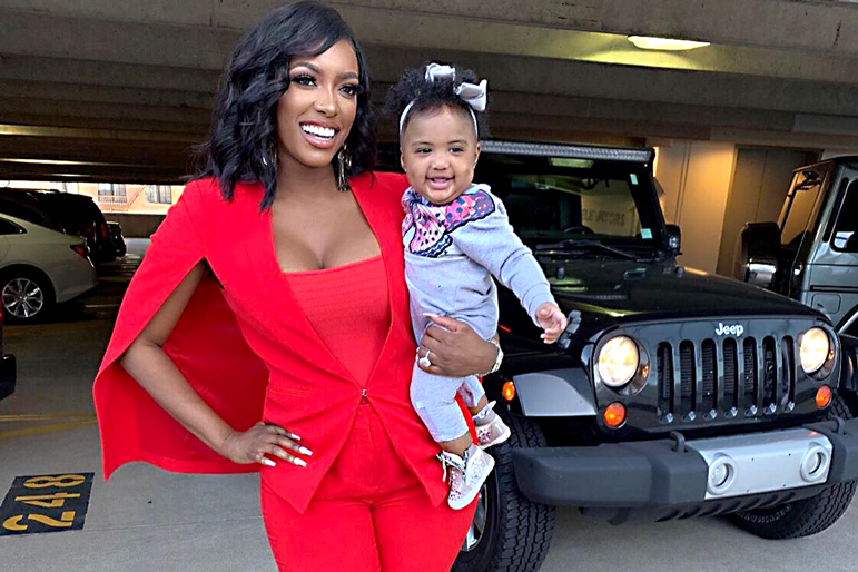 Porsha Williams Pilar Jhena Daughter