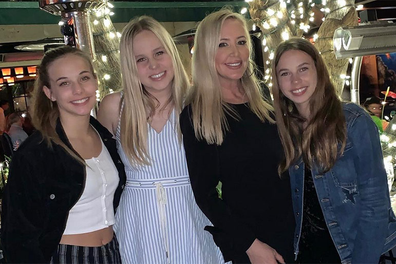 Shannon Beador Daughters Homecoming Rhoc