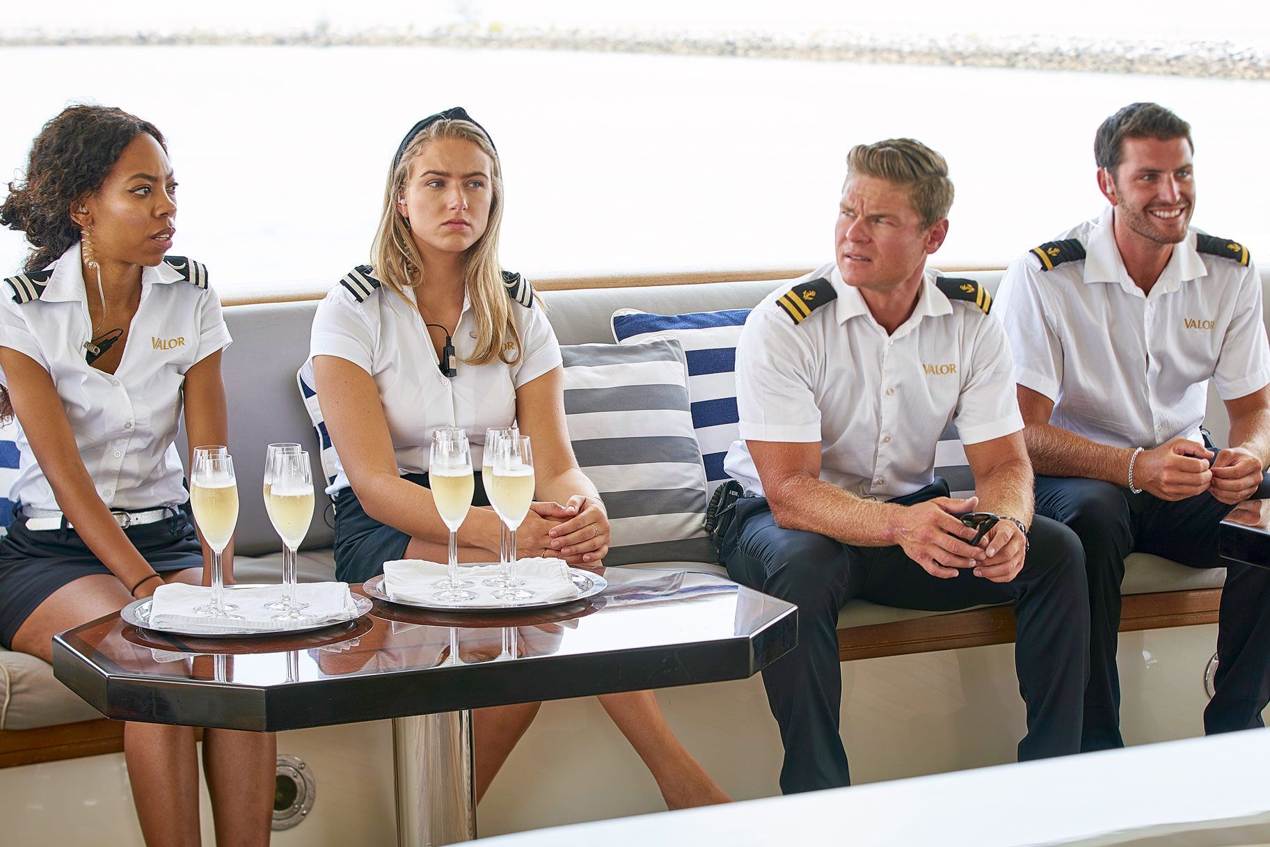 Below Deck Season 7 Crew Feet