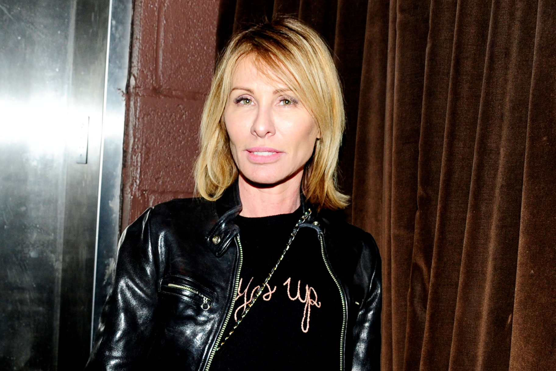 Carole Radziwill Rhony Crutches Injury