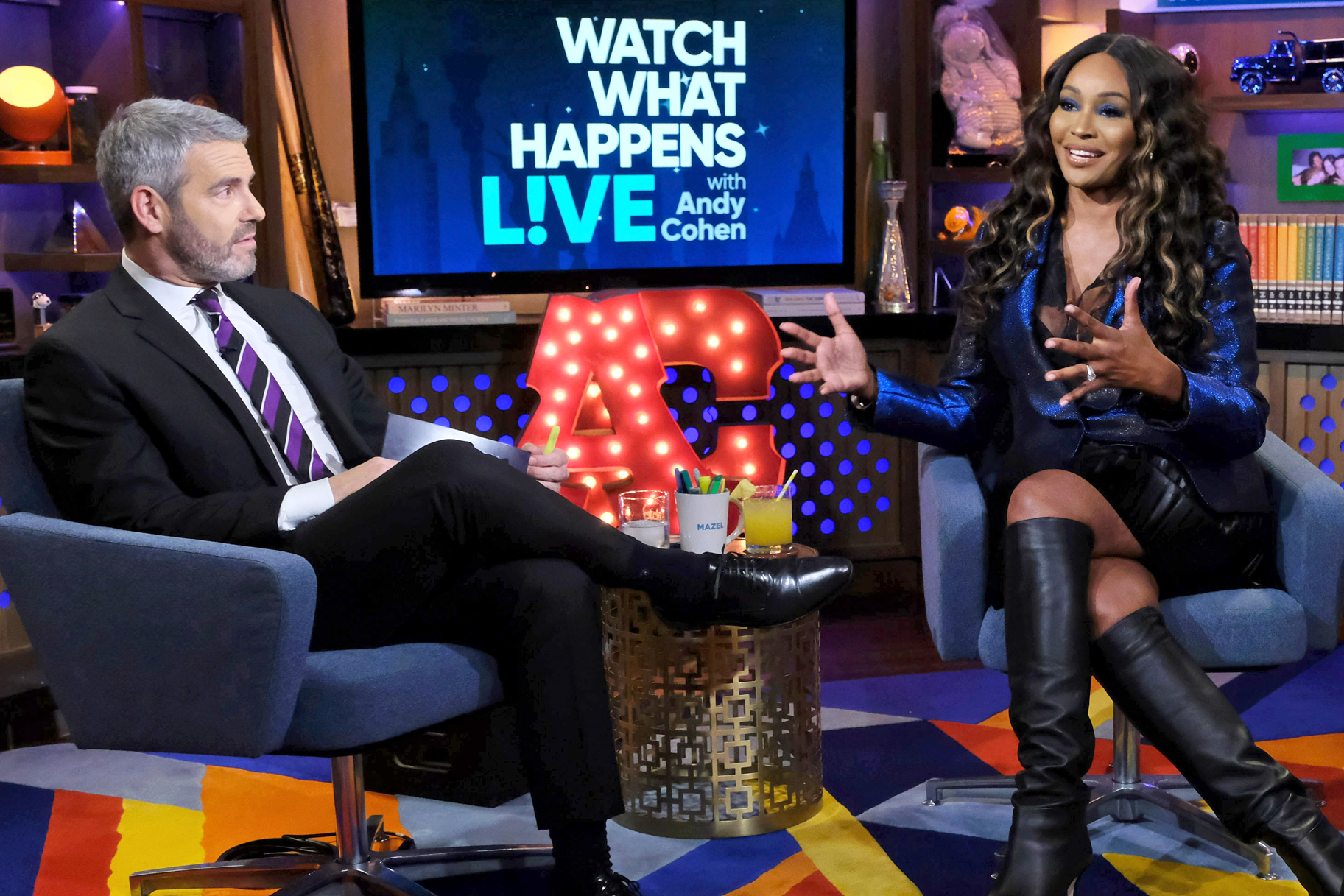 """Andy Cohen on Cynthia Bailey's Latest Friendship Drama: """"I Don't Know If This Is Gonna Work out So Well for You"""""""