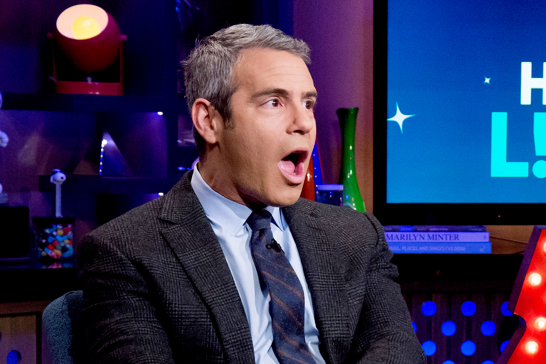 Dish Andy Cohen Celebrity Question
