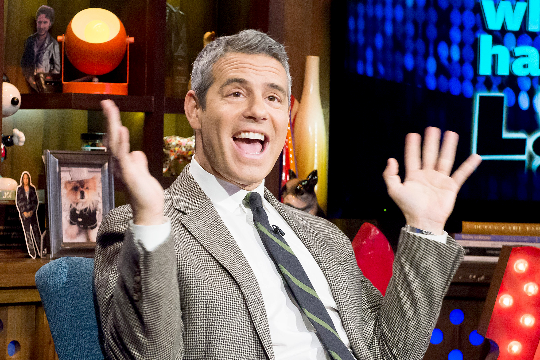Jet Set Andy Cohen Bored