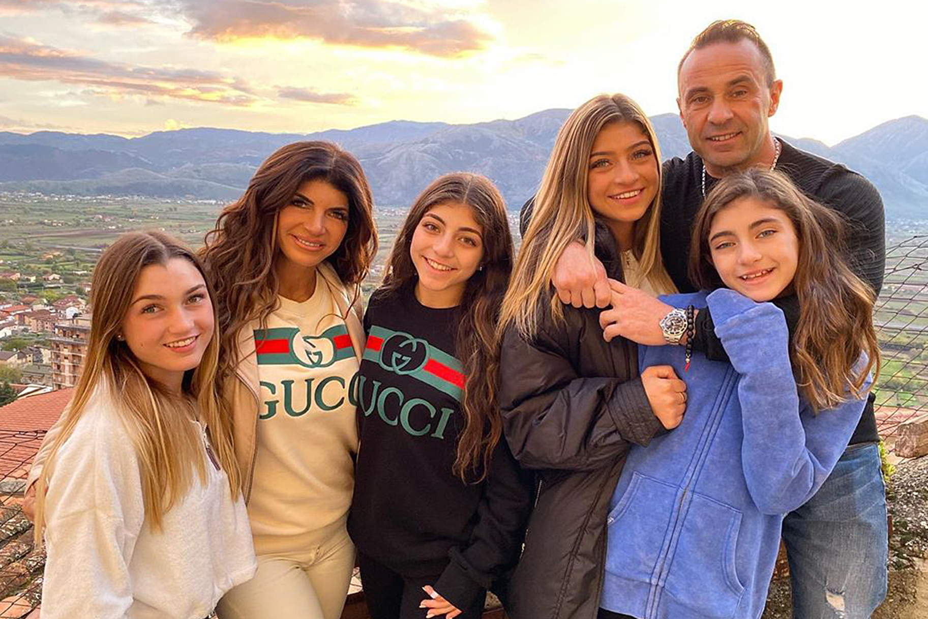 Joe Giudice Teresa Kids Move To Italy