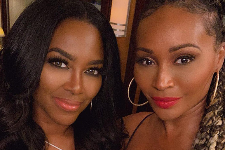 Kenya Moore Cynthia Bailey Wedding
