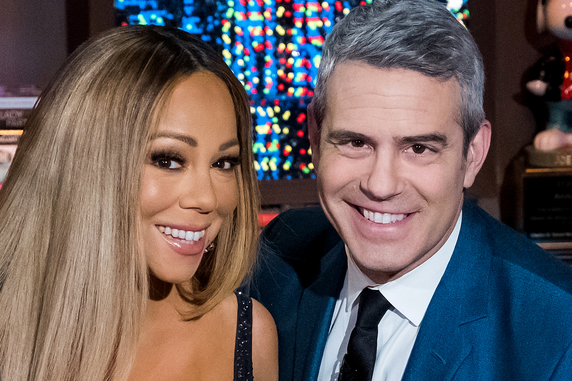 Mariah Carey Andy Cohen Book