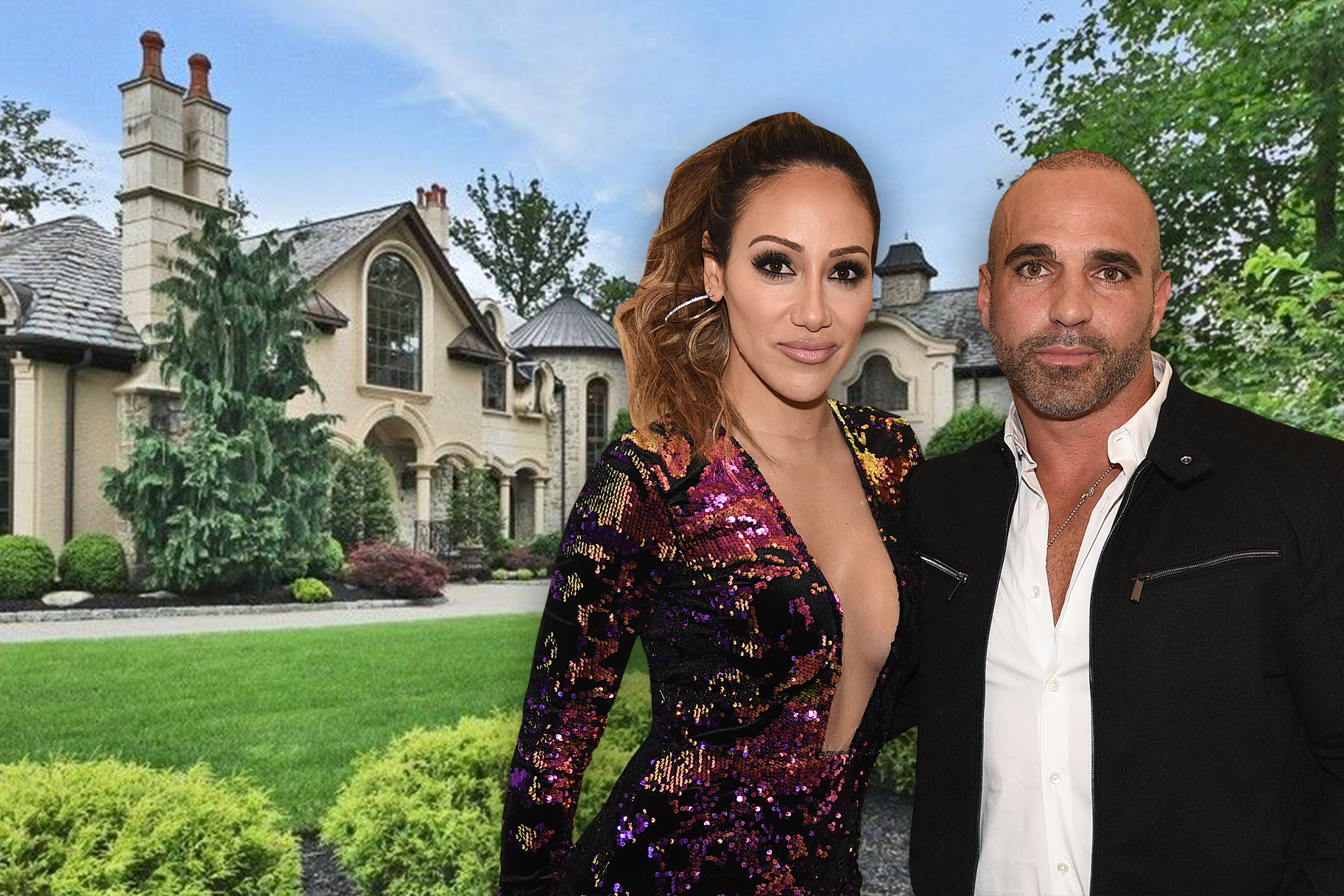 Melissa Gorga Joe Home Unlisted