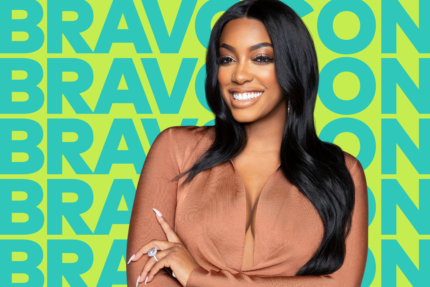 Porsha Williams BravoCon 2019