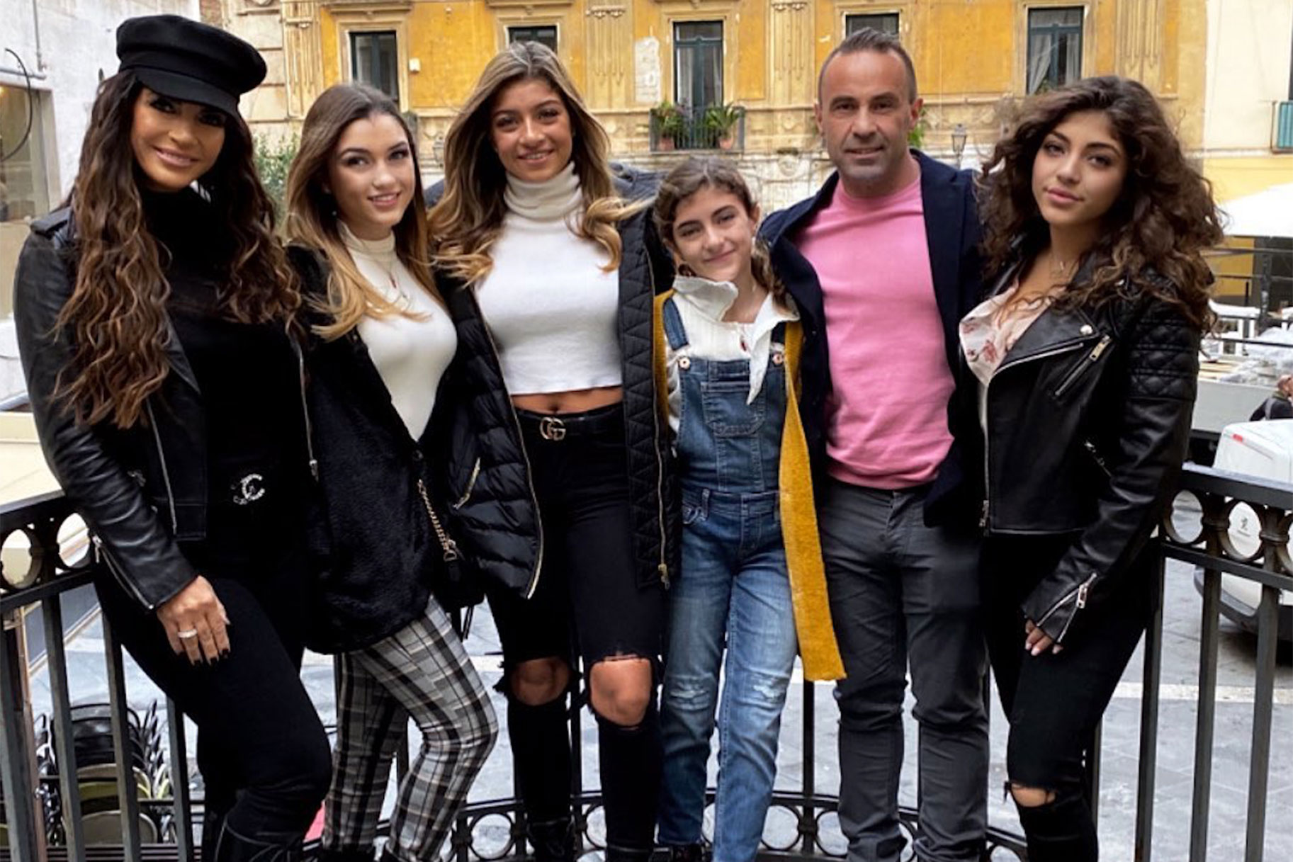 Teresa Giudice Rhonj Joe Daughters Italy