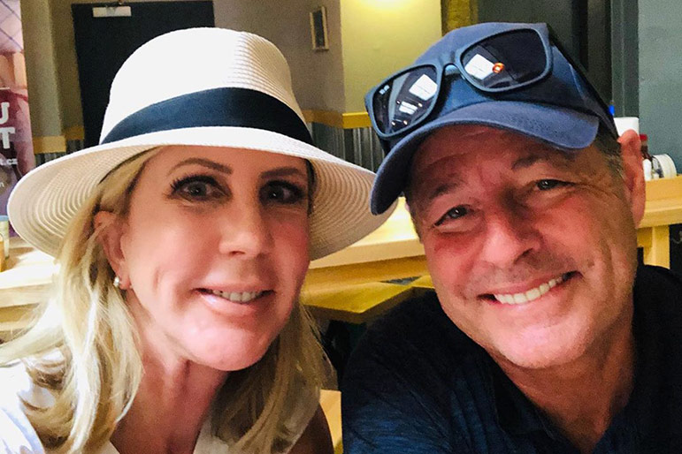 Vicki Gunvalson Steve Engagement Wedding