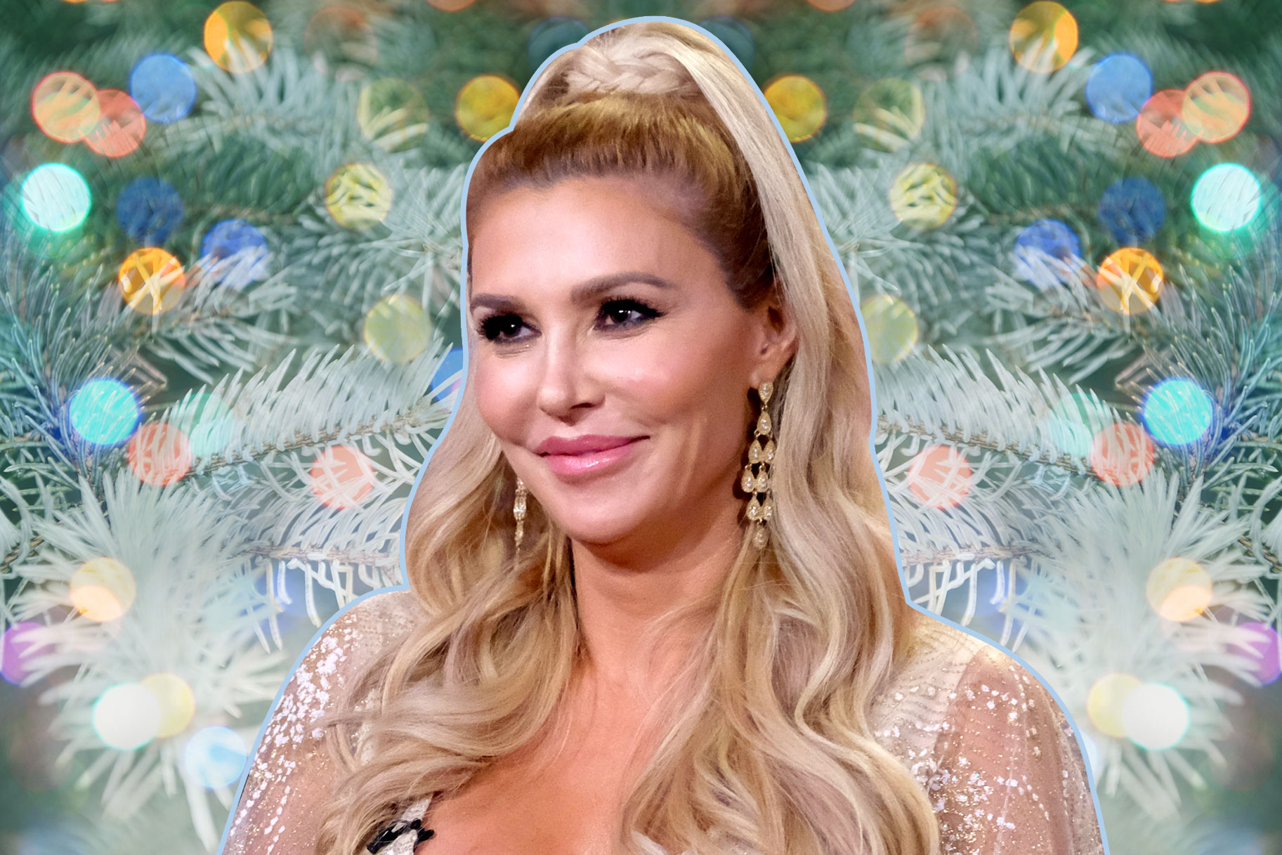 Brandi Glanville Christmas Tree Rhobh