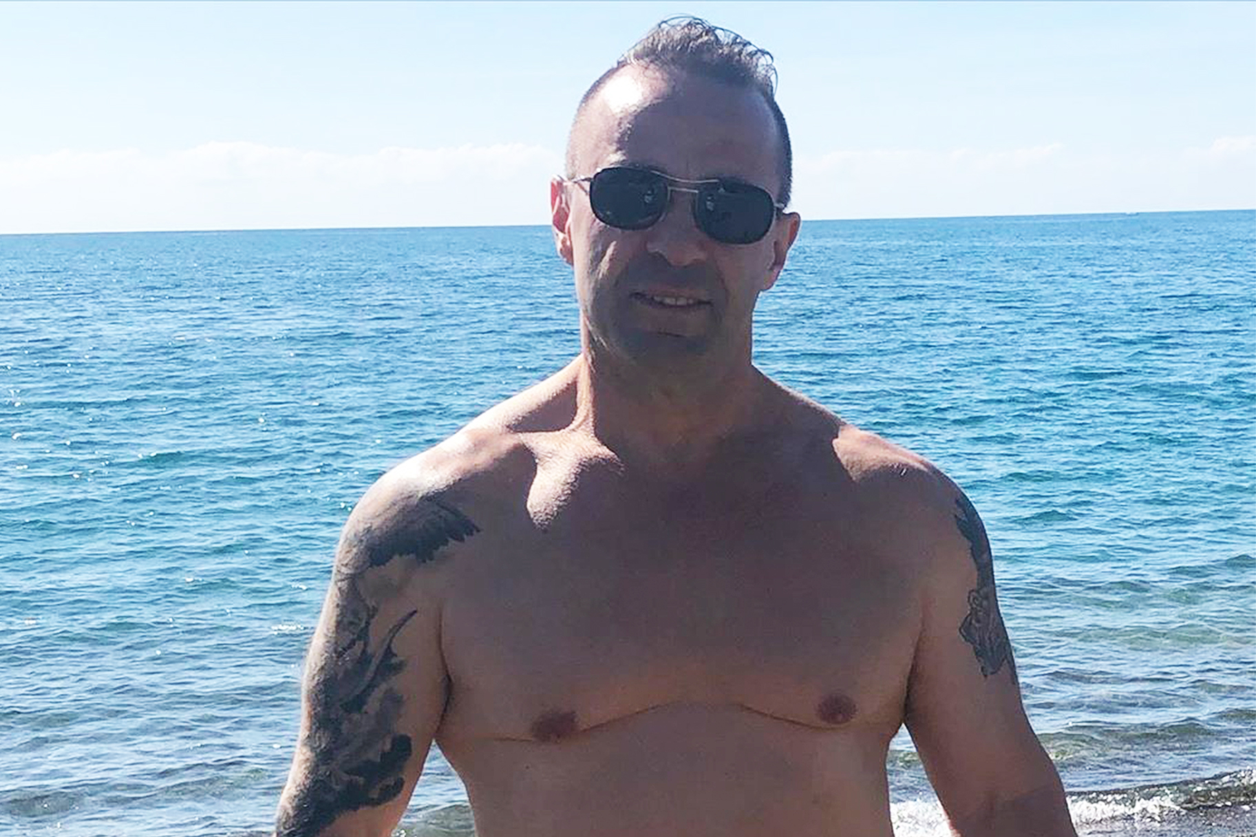 Joe Giudice Splits Pants After Long Workout in Italy ...