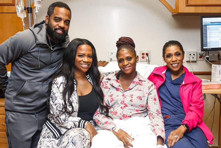 Kandi Burruss Surrogate Birth Daughter