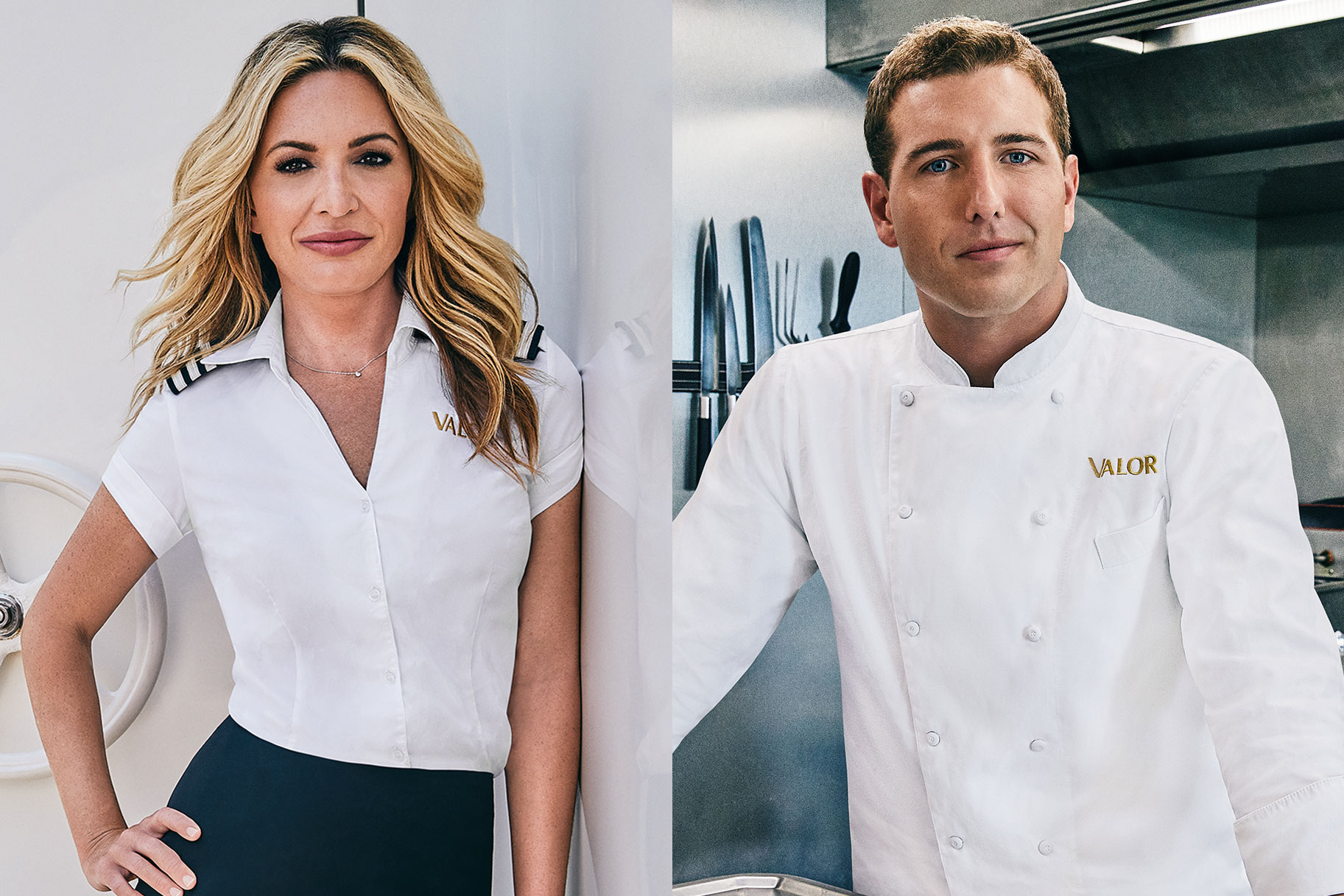 Kate Chastain Kevin Chef Below Deck
