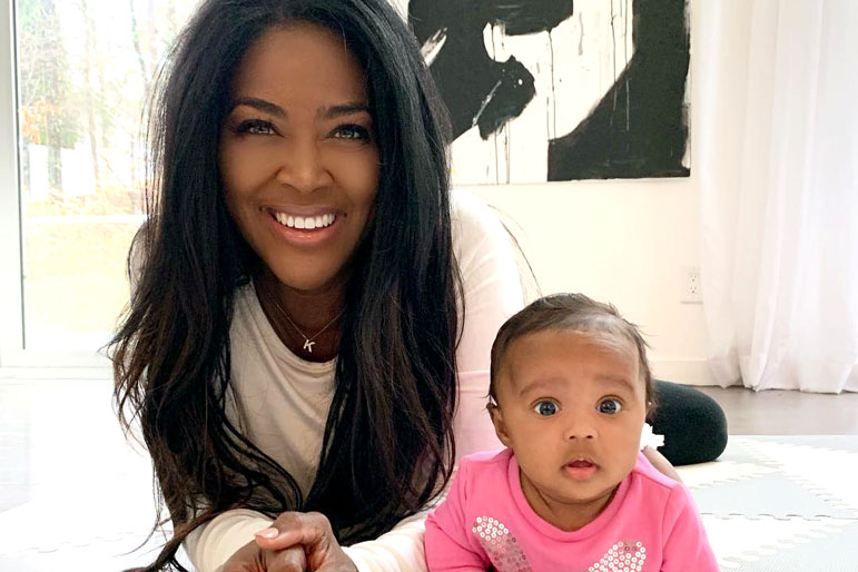 Kenya Moore Brooklyn Daly Walks