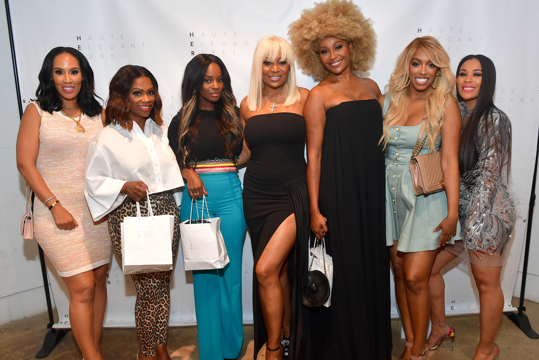Marlo Hampton Wig Launch Rhoa