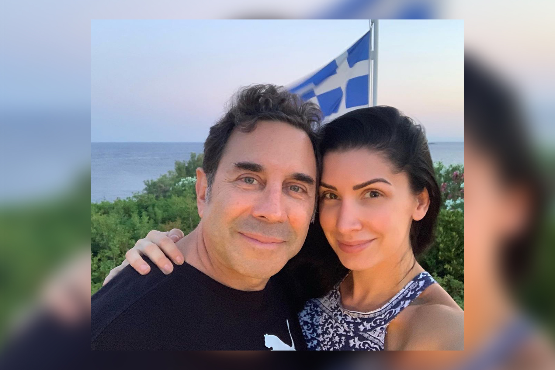Paul Nassif Brittany Holiday Photos