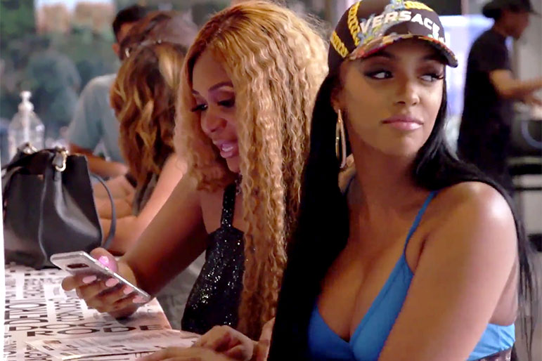 What Happened When Porsha Ate at Dennis' Restaurant for the First Time Since the Split?