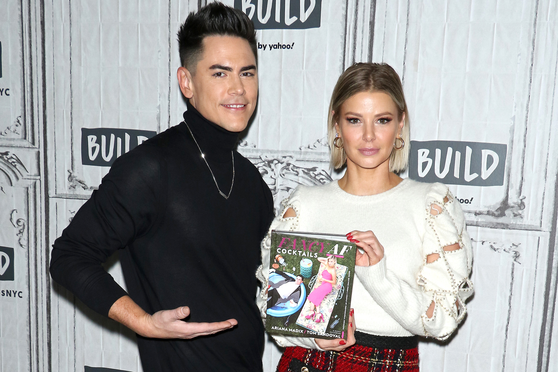 Tom Sandoval Ariana Madix Cocktail Book