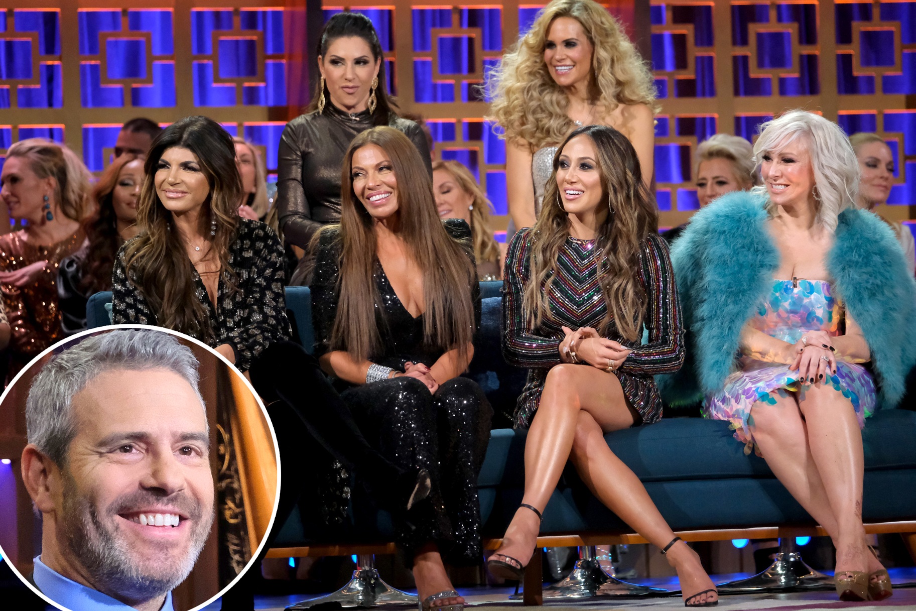 We Wonder What Andy Cohen Was Thinking at the RHONJ Season 10 Reunion...