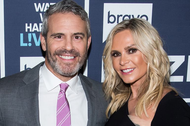 Andy Cohen Tamra Judge Rhoc
