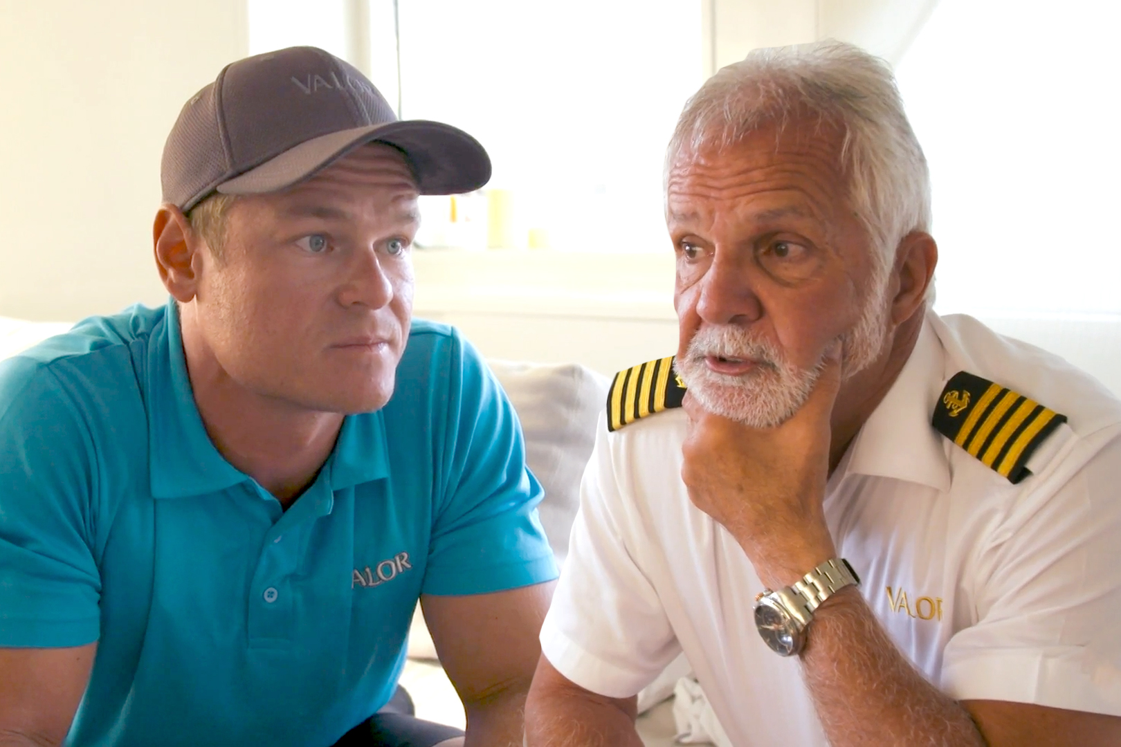 Ashton Pienaar Captain Lee Below Deck