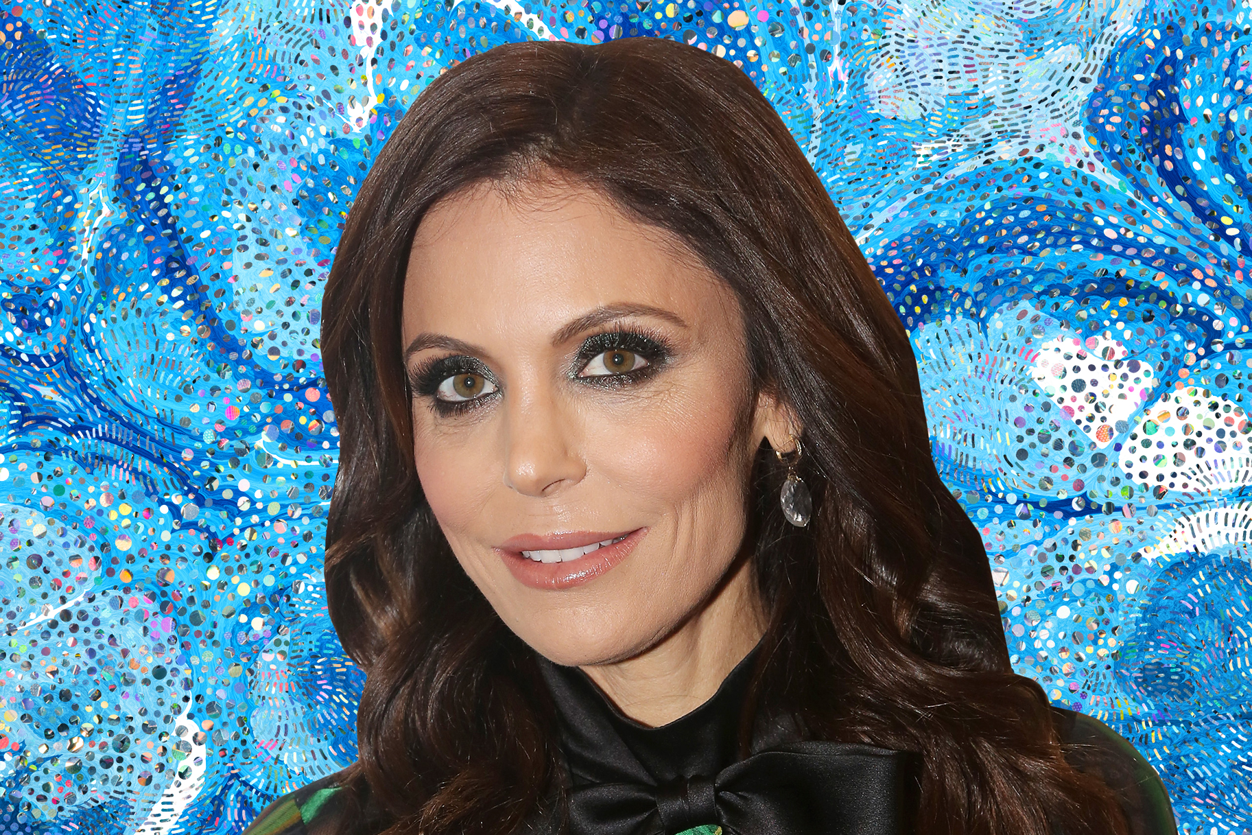 Bethenny Frankel Yoga Pose