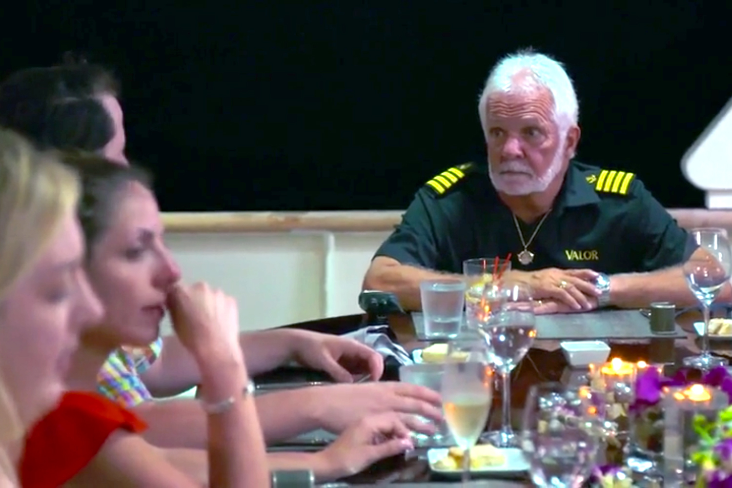 Now We Know What Captain Lee Rosbach *Really* Thinks of Dining with Charter Guests